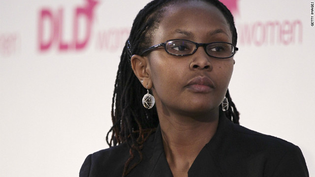 Juliana Rotich, blogger and co-founder Ushahidi -- the open-source mapping software.