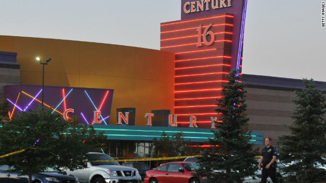 A gunman attacked moviegoers during a screening of