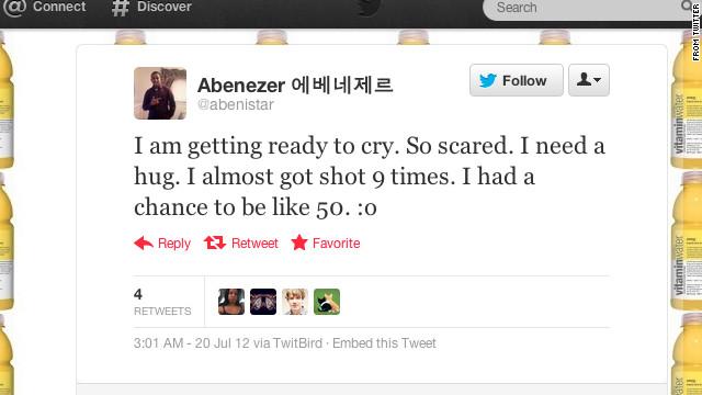 Así se desarrolló la matanza del cine de Aurora en las redes sociales
