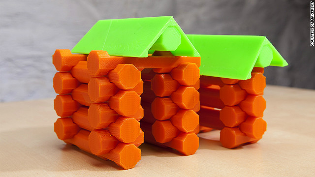 3-D printing is being used to create an array of commercial and industrial products.