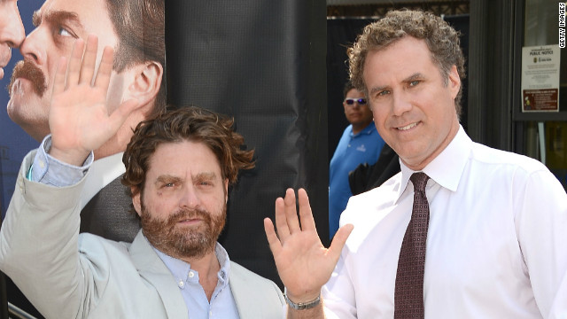 Zach Galifianakis, Will Ferrell take 'The Campaign' to Seattle