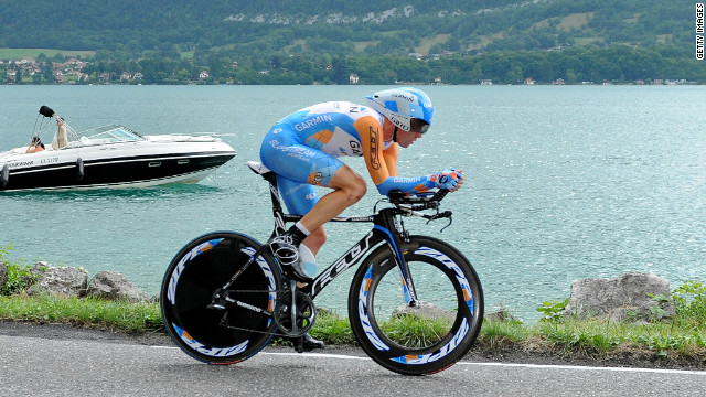In 2009, Wiggins competed in the Tour de France for just the third time. Riding for Team Garmin, Wiggins matched the best ever finish by a British rider as he took fourth place, equaling the effort of Scotland's David Millar in 1984.