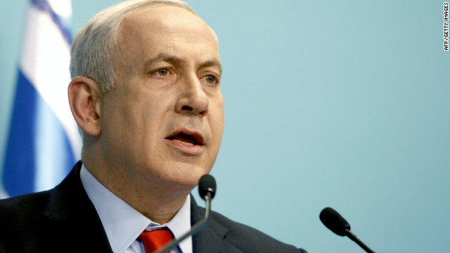 "Israeli Prime Minister Benjamin Netanyahu delivers a statement following the Bulgaria bus bombing. Netanyahu said: ""Yesterday's attack in Bulgaria was perpetrated by Hezbollah, Iran's leading terrorist proxy."" Israel's U.S. Embassy said Wednesday that it had no proof that Iran was the instigator of the attack."