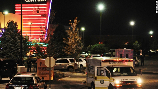 Ashley Moser was one of dozens wounded in the mass shooting at an Aurora, Colorado, theater on July 20.