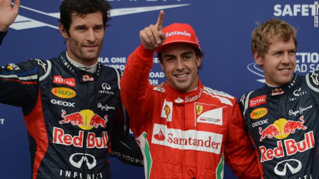 Fernando Alonso saldrá primero en el Gran Premio de Alemania