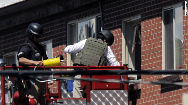 """El apartamento del atacante de Colorado estaba """"diseñado para matar"""""""