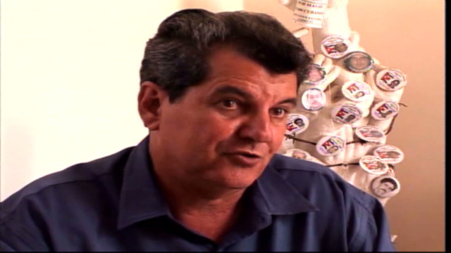 Cuban dissident Oswaldo Paya Sardinas (seen here talking to CNN Español) died in a car accident on Sunday. The crash is currently under investigation by Cuban authorities.