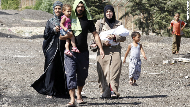 Syria's growing refugee crisis