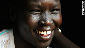 Supermodel Alek Wek