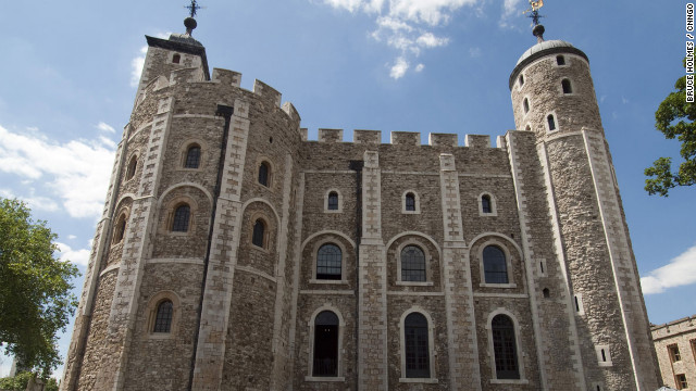 William the Conqueror ordered the construction of the massive White Tower in the 11th century.