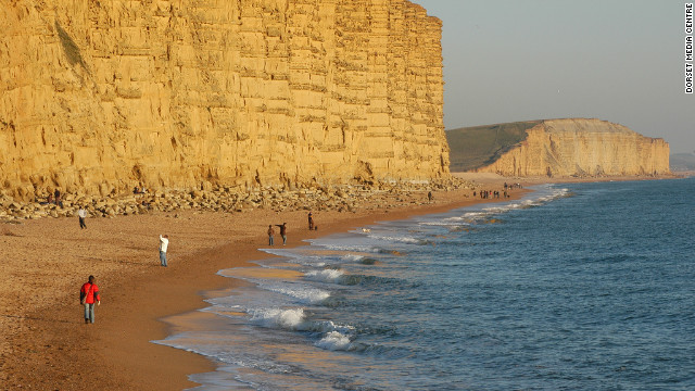 Olympic sailing on Jurassic Coast