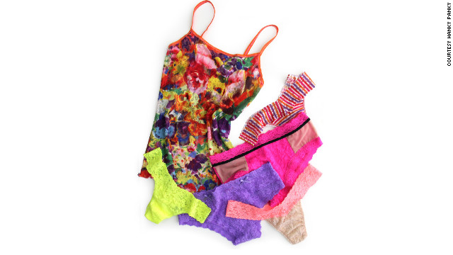 Hanky Panky has been manufacturing lingerie in the United States since its inception 1977. While many apparel designers source materials abroad, 100% of the fabrics and trims used to make Hanky Panky's Signature Lace thongs and panties are knitted in the United States.