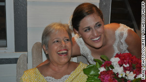 Before her death, Renee Mosier was able to make a last trip to her daughter\'s wedding.