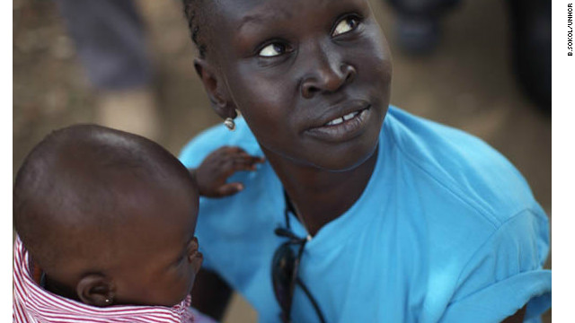 Alek Wek went back to South Sudan to celebrate the country's first year of independence.