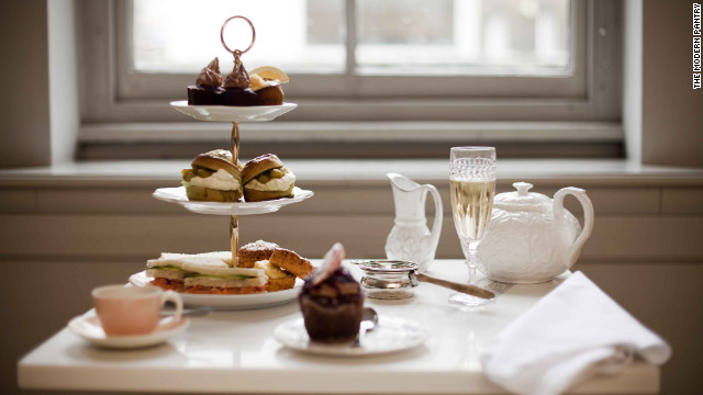 Afternoon tea at The Modern Pantry is light and simple, served from 3 to 5 p.m.