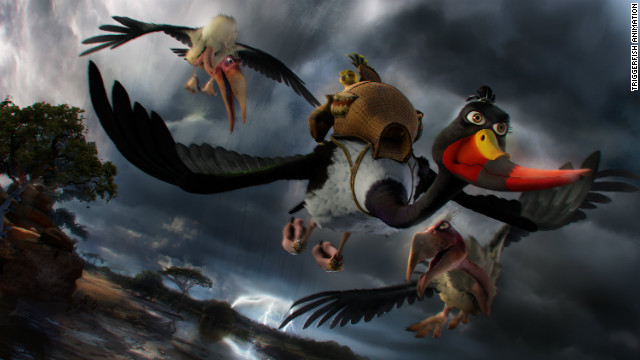 &quot;Zambezia,&quot; produced by Cape Town-based Triggerfish Animation Studios, has been chosen to close this year's Durban International Film Festival.
