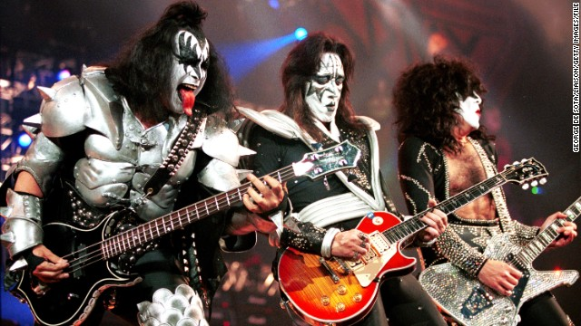 KISS used makeup to take their personas to another level.