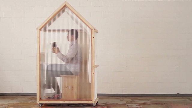 Un arquitecto diseña la «casa» más pequeña del mundo