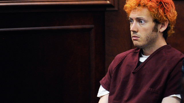 Colorado shooting suspect James Holmes appearing in court last month.