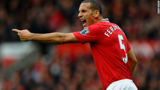 Rio Ferdinand is a way behind teammate Rooney but still has three million followers who tune in for his view<br />