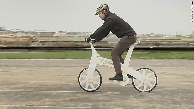 "EADS showcased the technology in 2011, creating the ""airbike"" -- a working bicycle built from nylon using a 3-D printer."