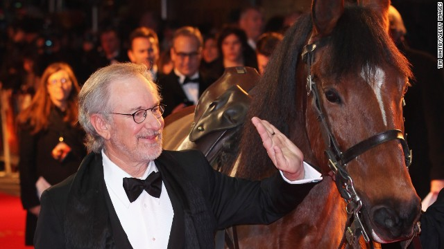He may have directed 2011 film Warhorse, but Steven Spielberg's equine interests don't stop there. The Oscar-winner also co-owns thoroughbred Atswhatimtalkingabout, which came fourth in the 2003 Kentucky Derby.