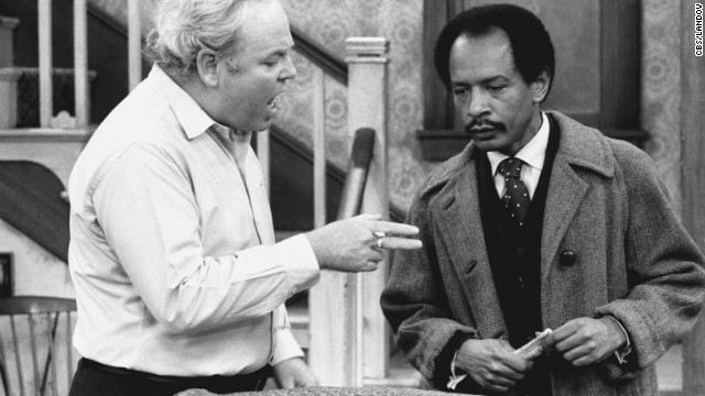 Carroll O'Connor stars as Archie Bunker and Sherman Hemsley as George Jefferson in an episode of &quot;All in the Family&quot; titled &quot;Pay the Twenty Dollars.&quot;
