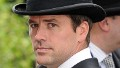 Michael Owen arrives at Ascot 2012