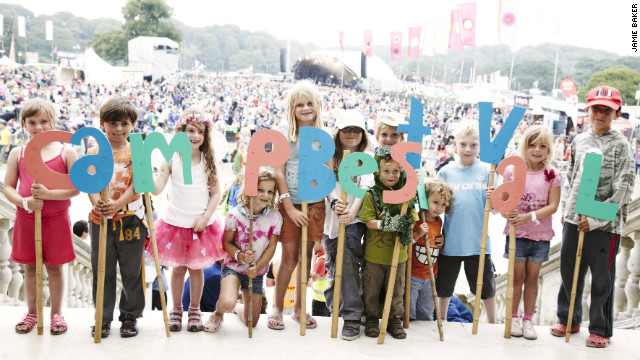 The award winning music festival &quot;Camp Bestival&quot; is held at the majestic Lulworth Castle. Each year some of the world's most popular acts play at the festival, which was specially created for music-loving families with children. 