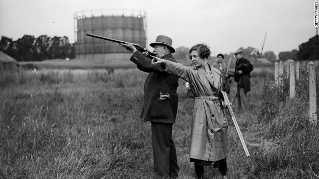 Live pigeon shooting only appeared once -- at the 1900 Olympics in Paris. Nearly 300 birds were slain in the bloody spectacle. Today, clay targets are standard.