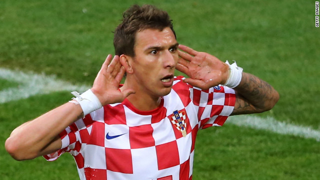 Vfl Wolfsburg to Bayern Munich<br/><br/>A surprise star of Euro 2012, Mario Mandzukic scored three times in three games for Croatia to be the tournament's equal top scorer. Bayern paid Bundesliga rivals Wolfsburg $15.75 million for the 26-year-old striker's services.