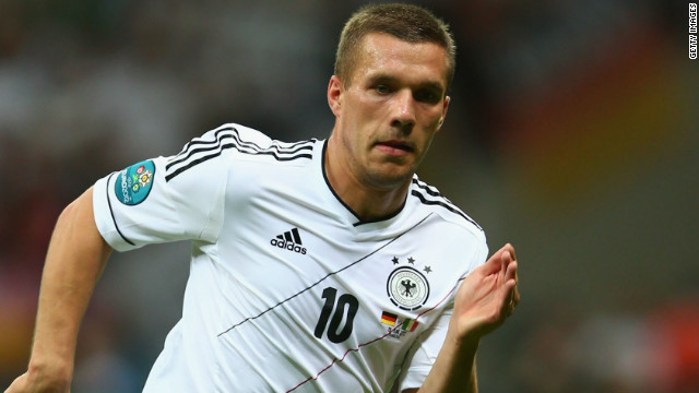 FC Cologne to Arsenal&lt;br/&gt;&lt;br/&gt;Lukas Podolski has left his childhood club Cologne for the second time, having struggled to make an impression at Bayern Munich following his 2006 transfer. The Germany star cost Arsenal $15.75 million after scoring 18 Bundesliga goals last season -- which was not enough for &quot;the Billy Goats&quot; to avoid relegation.