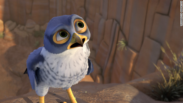 "Its main character is Kai (Jeremy Suarez), a brave, intrepid young falcon ""with an impulsive, daredevil streak that often gets him into trouble."""