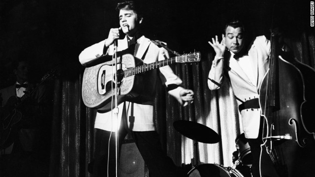 Many found Elvis' music pleasing to the ear, but his pelvic thrusts might have had just as much to do with the screaming throngs of teenage girls flocking to his shows.