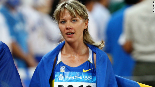 Ukraine's Nataliya Tobias won a bronze medal in the women's 1500m at the Beijing Olympics in 2008