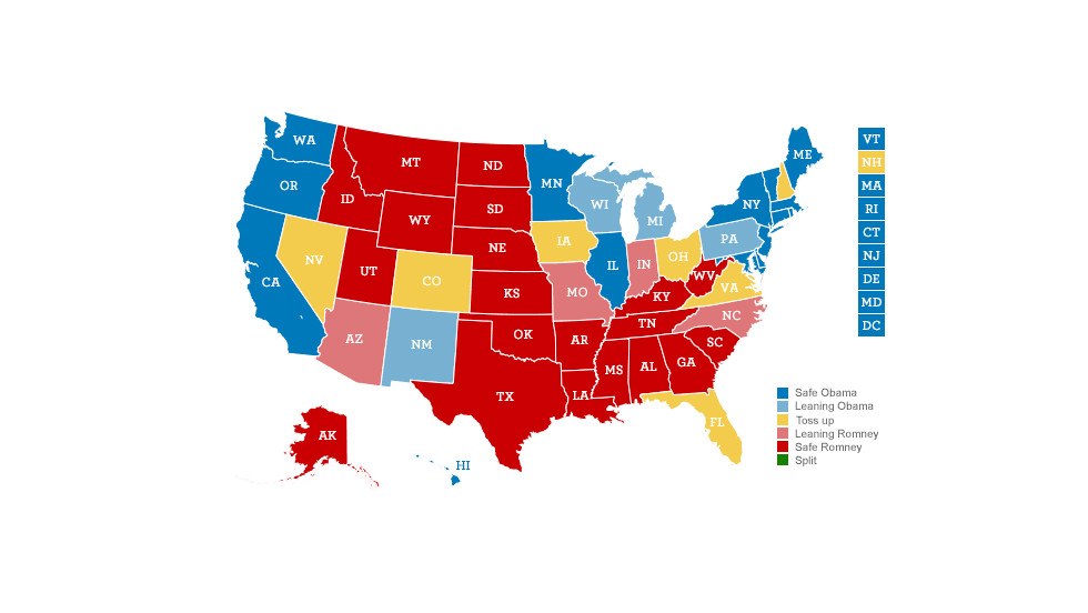 2012 cnn election map