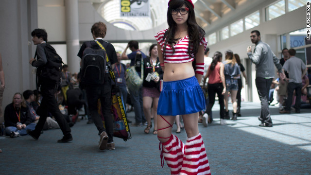 There's Waldo! A stylized, kawaii take on the iconic bespectacled stand-out.