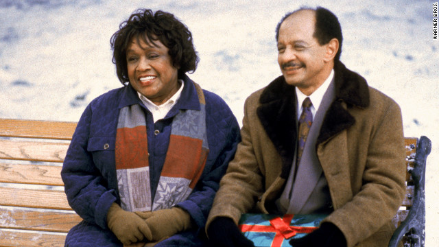 Isabel Sanford, left, and Sherman Hemsley appear on an episode of the television &quot;Lois &amp;amp; Clark: The New Adventures of Superman&quot; in 1994.