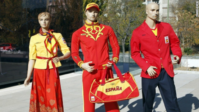 The uniforms that Russian designers Bosco Sport created for the Spain's Olympians are so dreadful that the athletes have taken to social-networking website Twitter to express their displeasure. Hockey player Alex Fabregas uploaded a picture of himself clad in his new gear with the caption: &quot;Olympic kit ... there are no adjectives.&quot;