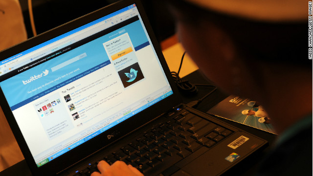 Twitter says it doesn't monitor tweets but investigates if users complain someone has revealed personal information.
