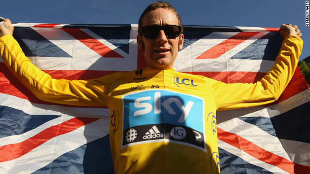 Bradley Wiggins' best finish in the Tour de France prior to this year was fourth in the 2009 race.
