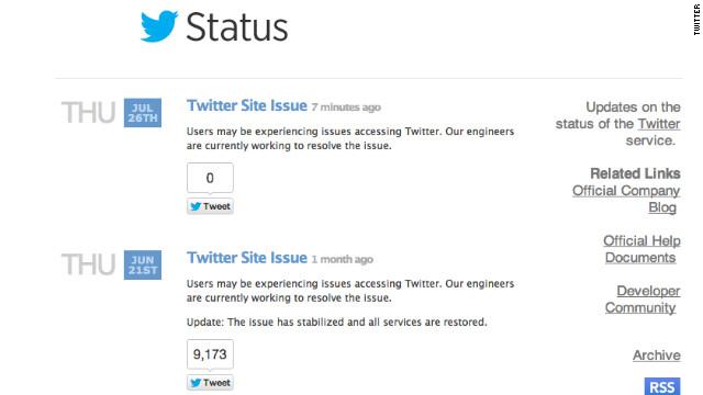 Twitter restablece su servicio