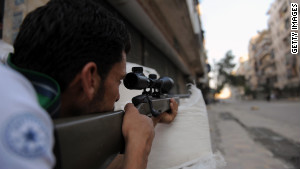 Syria's uprising: From rocks to RPGs