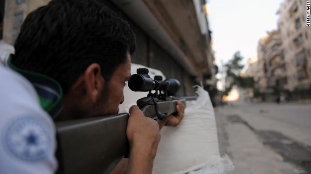 Las batallas por Aleppo y Damasco se intensifican en la guerra en Siria