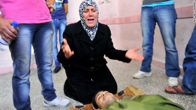 Usame Mircan's mother grieves after he was killed during fighting in A<br /> 1000<br /> leppo.