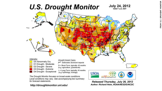 Area in extreme drought increases by size of Texas, report says