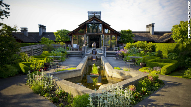 The Inn at Langley rests in a wilderness playground in Langley, Washington. Visitors can search for oysters and pick blackberries before putting their feet up and enjoying six-course meals.