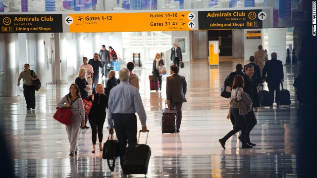 Federal aviation authorities stopped two arriving jetliners at John F. Kennedy International Airport after a threat, Monday.