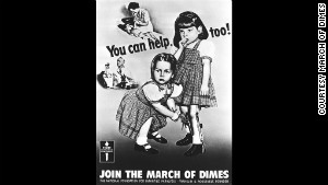 Pam and Patricia O\'Neil (now Patricia O\'Neil Dryer) were poster children for a campaign to stop polio in the 1950s.