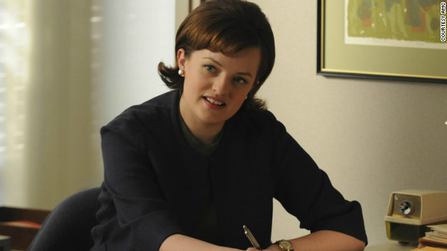 Peggy Olson (Elisabeth Moss) in Episode 2 of